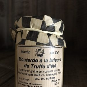 MOUTARDE AUX BRISURES DE TRUFFE